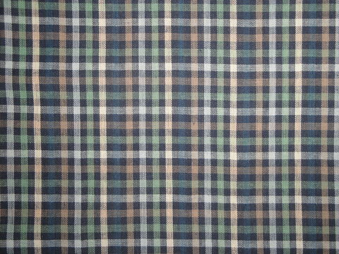 Navy,Taupe,Green,Lt.,Blue,Natural,Woven,Cotton,Check,Fabric,RW0893_ Supplies,homespun_cloth,homespun_fabric,homespun_material,cotton_material,cotton_cloth,cotton_fabric,_cloth ,plaid_homespun,rag_quilting_fabric,RW0049,fabric_shop,Cotton Materia