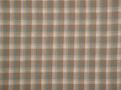 Taupe,Multi,Color,Woven,Cotton,Plaid,Fabric,RW0871_ Supplies,homespun_cloth,homespun_fabric,homespun_material,cotton_material,cotton_cloth,cotton_fabric,_cloth ,plaid_homespun,rag_quilting_fabric,RW0870,fabric_shop,Cotton Materia