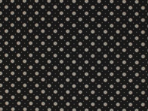 Remember,When,1800's,Civil,War,Reproduction,Black,Cotton,Calico,Quilting,Shirting,Fabric,With,Small,Design,remember _when_choice_fabrics_black_circle_shirting_sewing_fabric_civil_war_reproduction_calico