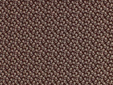 Remember,When,Civil,War,Reproduction,Brown,Cotton,Sewing,Fabric,With,Small,Flower,Design,remember _when_choice_fabrics_black_flower_shirting_sewing_fabric_civil_war_reproduction