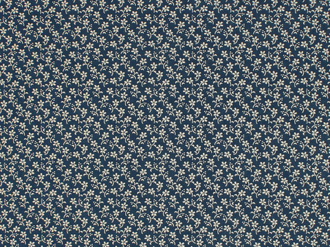 Remember,When,Civil,War,Reproduction,Blue,Cotton,Sewing,Fabric,With,Small,Flower,Design,remember _when_choice_fabrics_1800's_blue_flower_shirting_sewing_fabric_civil_war_reproduction