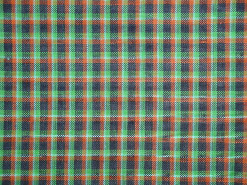 Blue,Green,Aqua,Rust,Woven,Cotton,Plaid,Homespun,Fabric,RW1015_ Supplies,homespun_cloth,homespun_fabric,homespun_material,cotton_material,cotton_cloth,cotton_fabric,_cloth ,plaid_homespun,rag_quilting_fabric,RW0049,fabric_shop,Cotton Materia