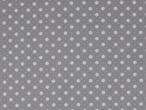 Remember,When,1800's,Civil,War,Reproduction,Grey,Cotton,Calico,Quilting,Shirting,Fabric,With,Small,Design,remember _when_choice_fabrics_grey_dots_circle_shirting_sewing_fabric_civil_war_reproduction_calico
