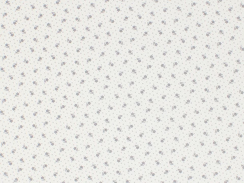 Remember,When,Civil,War,Reproduction,White,Cotton,Calico,Fabric,With,Small,Grey,Flower,Dot,Design,remember _when_choice_fabrics_grey_flower_shirting_sewing_fabric_civil_war_reproduction_Calico
