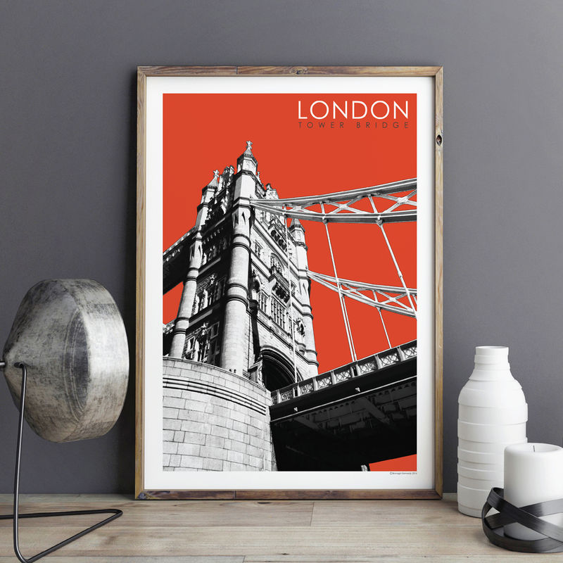 London Prints - Tower Bridge - product images  of