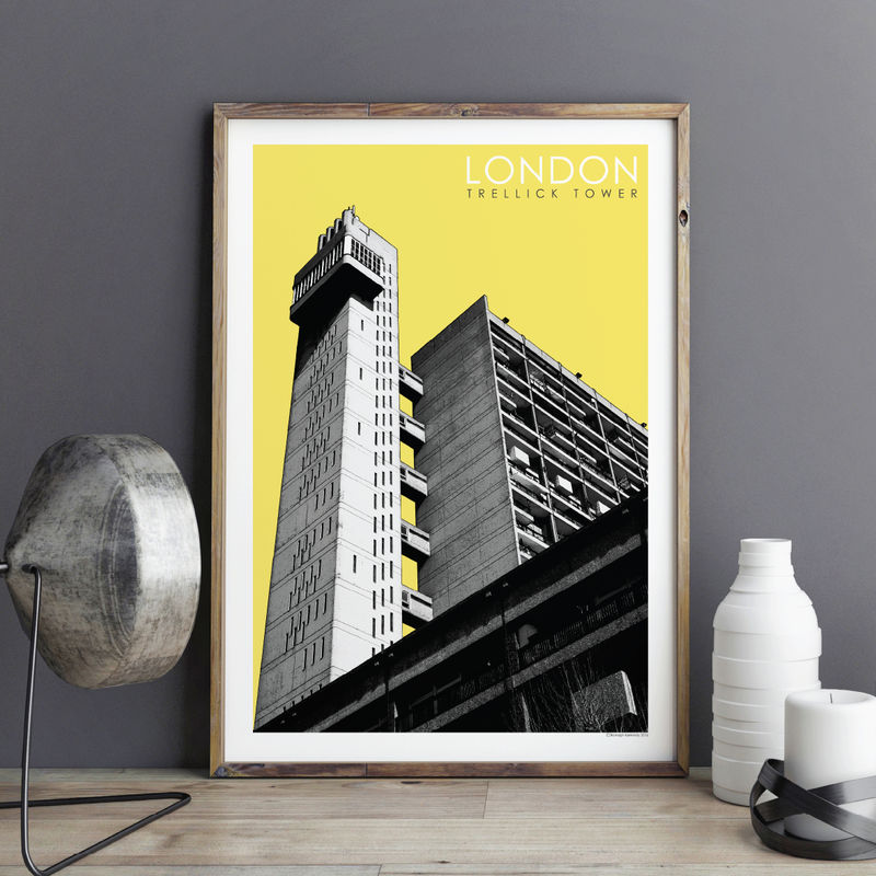 London Prints - Trellick Tower No.1 - product images  of