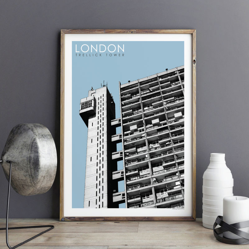 London Prints - Trellick Tower No.2 - product images  of