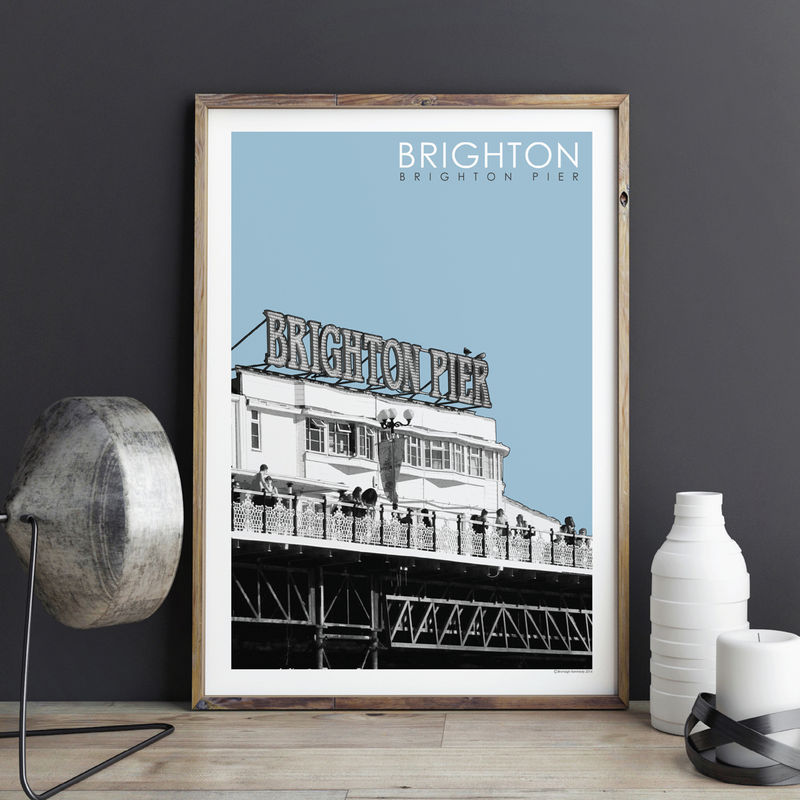 Brighton Prints - Brighton Pier - product images  of