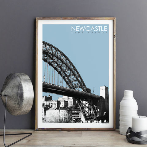 Newcastle,Travel,Prints,-,Tyne,Bridge,newcastle prints, travel prints, art prints uk, city prints, architectural prints, tyne bridge