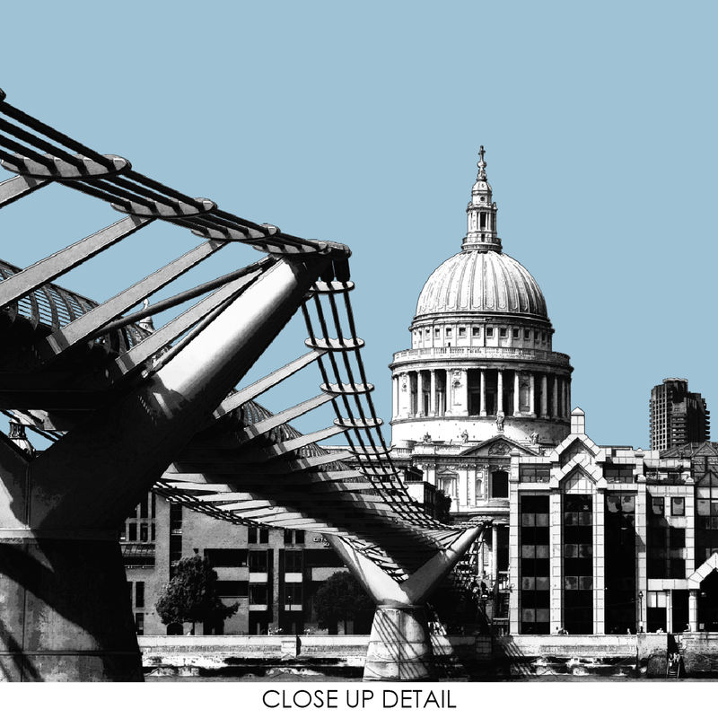 London Prints - Millennium Bridge  - product images  of