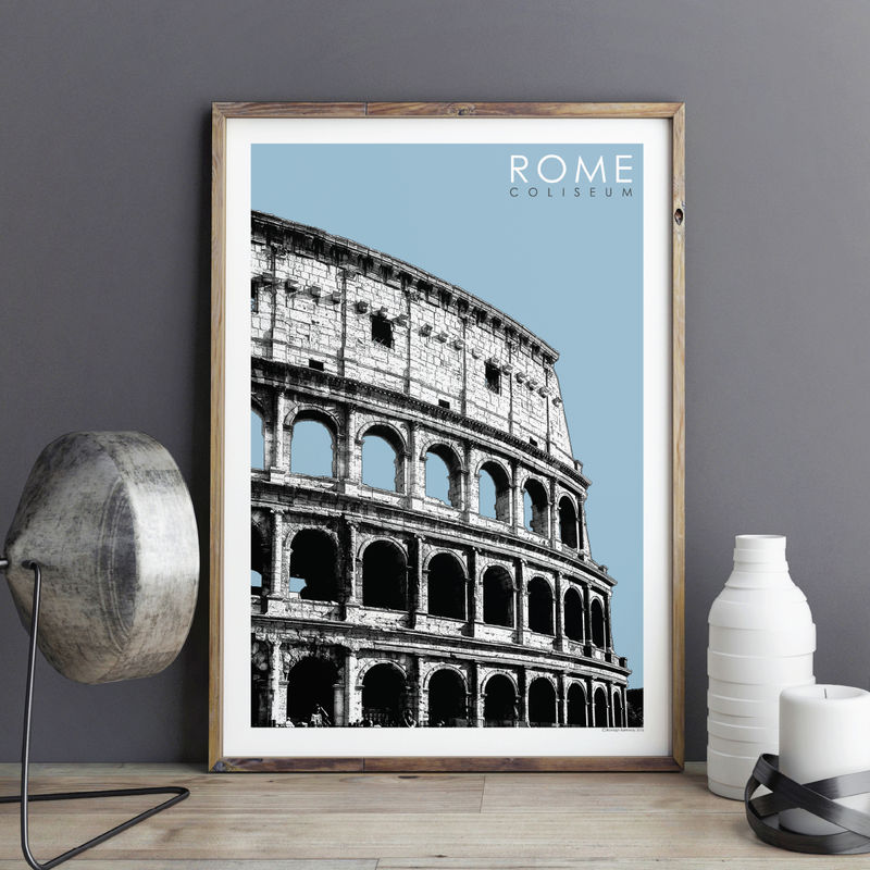 Travel Prints - Rome - The Coliseum - product images  of