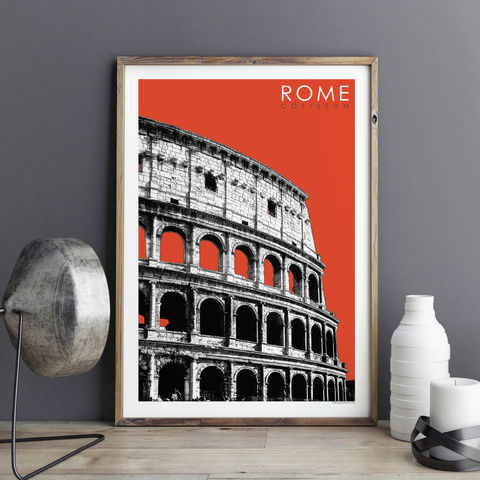 Travel,Prints,-,Rome,The,Coliseum,travel prints, city prints, rome prints, art prints, the colisuem rome