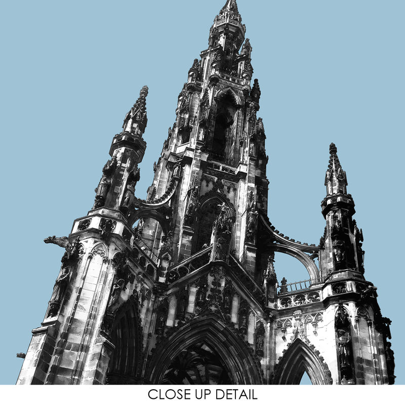 Edinburgh Prints - Scott Monument - Travel Prints - product images  of
