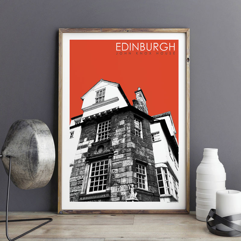 Edinburgh Prints - John Knox House - Travel Prints - product images  of