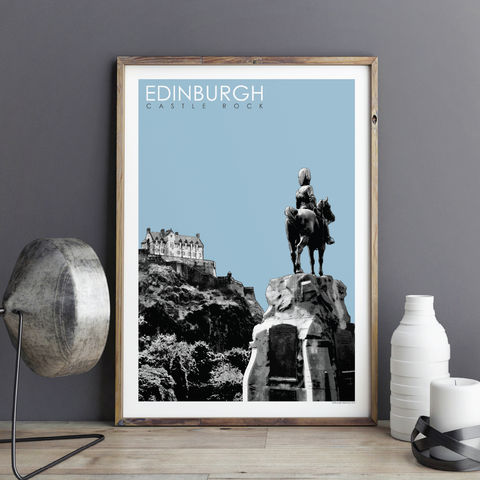 Edinburgh,Prints,-,Castle,Rock,Travel,edinburgh prints, travel prints,, city prints, art prints, edinburgh castle