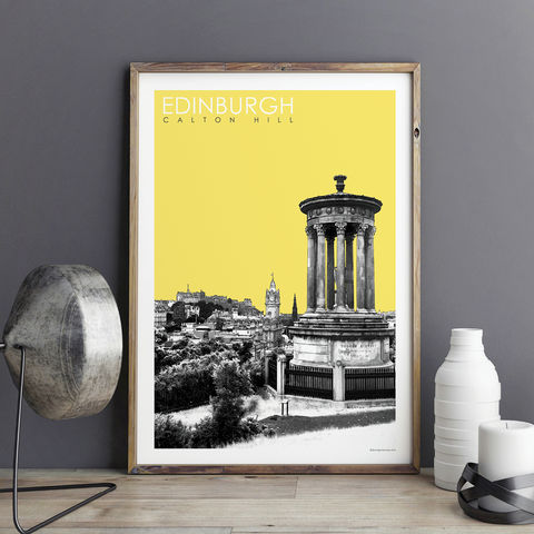Edinburgh,Prints,-,Calton,Hill,Travel,edinburgh prints, travel prints, city prints, art prints, edinburgh skyline