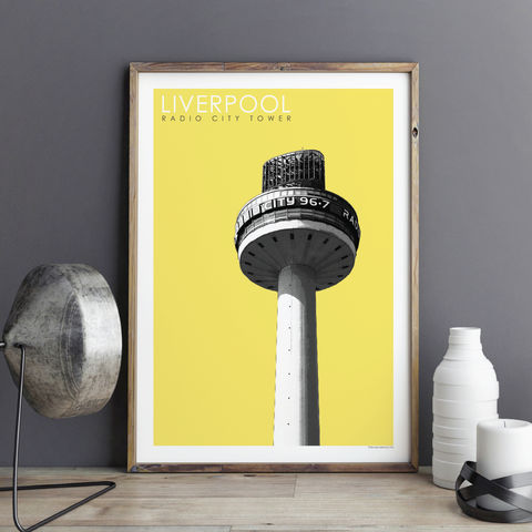 Liverpool,Prints,-,Radio,City,Travel,Posters,liverpool prints, travel posters, city prints, travel prints, radio city