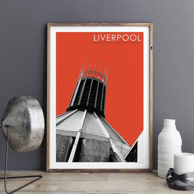 Liverpool Prints - Metropolitan Cathedral - product images  of