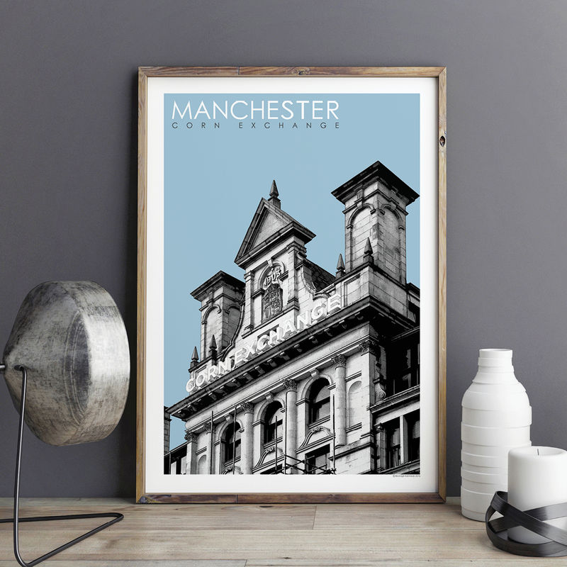 Manchester Prints - Corn Exchange - Travel Posters - product images  of