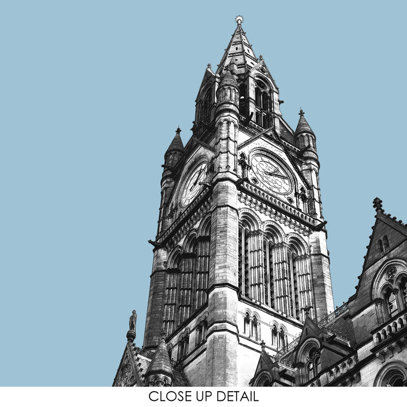 Manchester Prints - Town Hall - Travel Posters - product images  of