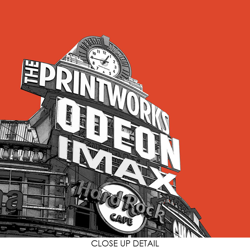 Manchester Prints - The Printworks - Travel Posters - product images  of