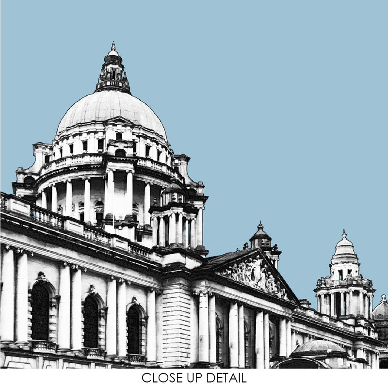 Travel Prints - Belfast City Hall - City Print - product images  of