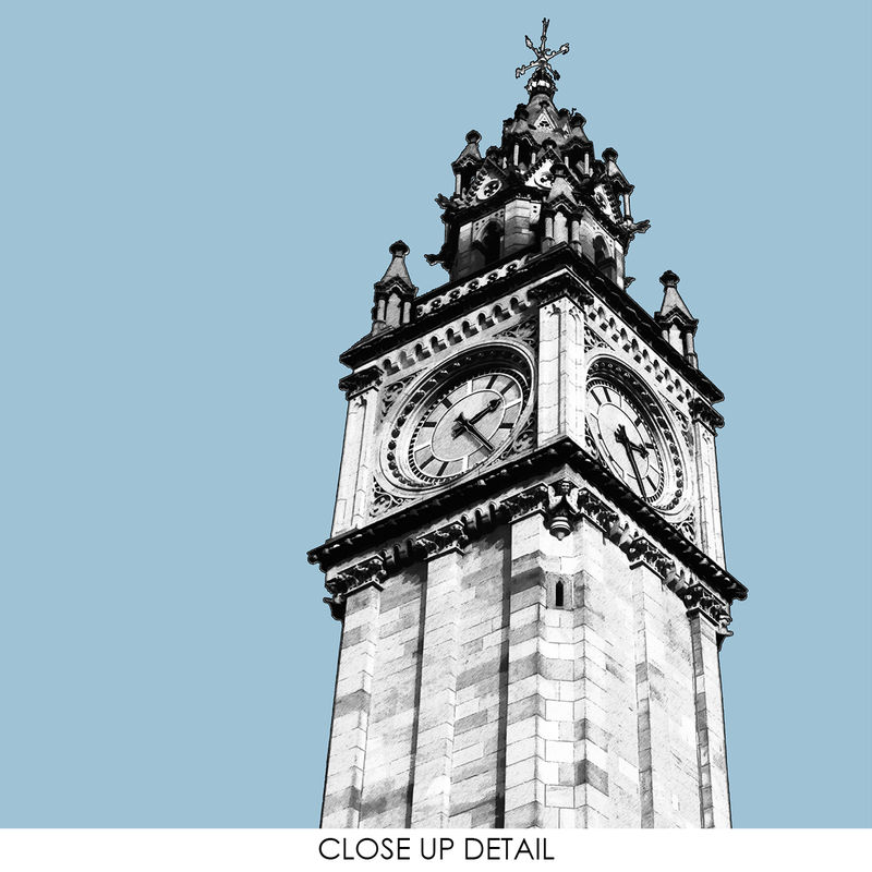 Travel Prints - Belfast, Albert Clock - City Prints - product images  of