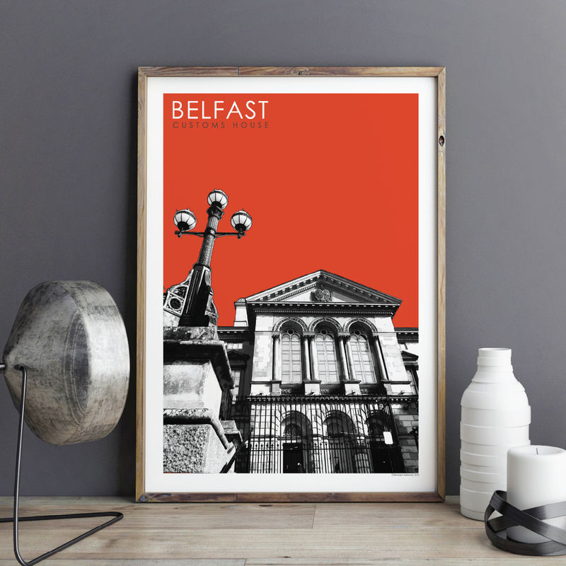 Travel Prints - Customs House, Belfast - City Prints - product images  of