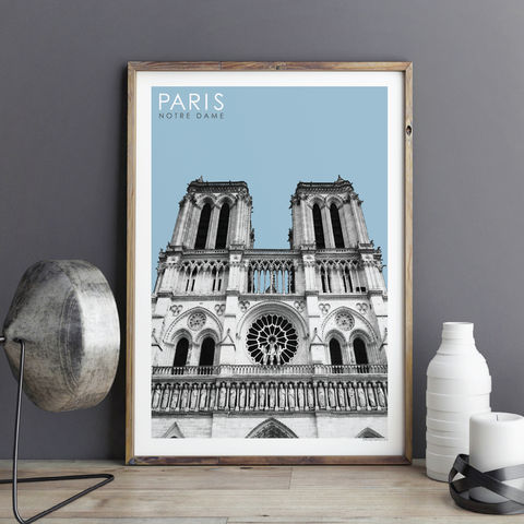 Paris,Prints,-,Notre,Dame,Travel,Posters,paris prints, travel posters, city prints, travel gifts, art prints, Notre Dame Paris
