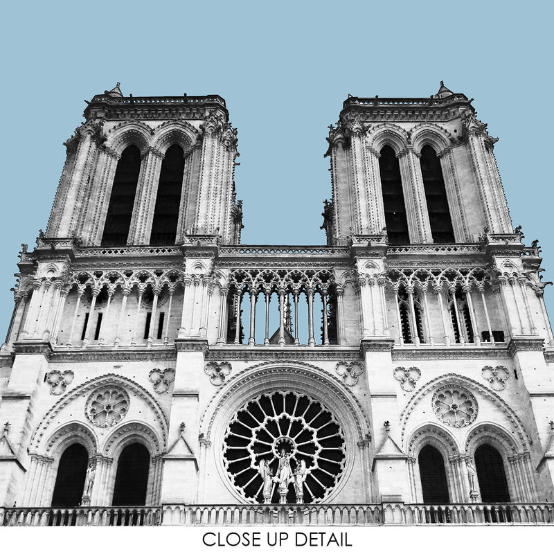 Paris Prints - Notre Dame - Travel Posters - product images  of