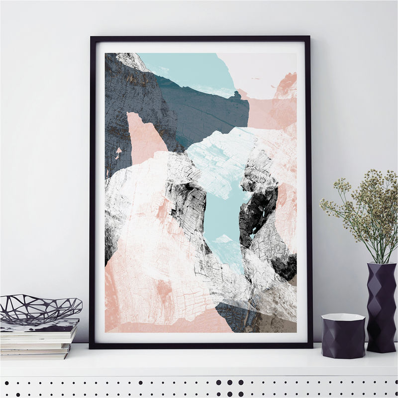 Abstract Art Prints - Minimalist Fine Art Prints - Scandi Print - product images  of