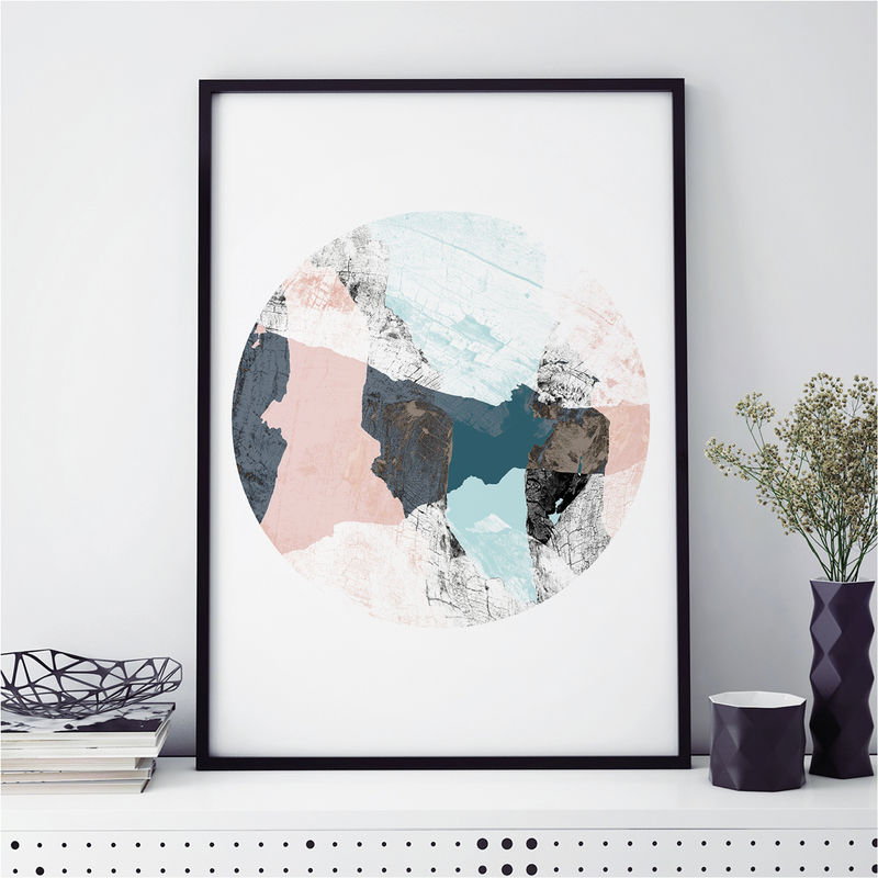 Set of 3 Prints - Abstract Art Prints - Minimalist Prints - Large Wall Art Prints - product images  of