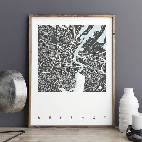 Belfast,Map,Art,Print,-,LIMITED,EDITION,PRINTS,belfast map art print, city maps, belfast map prints, city prints, limited edition prints
