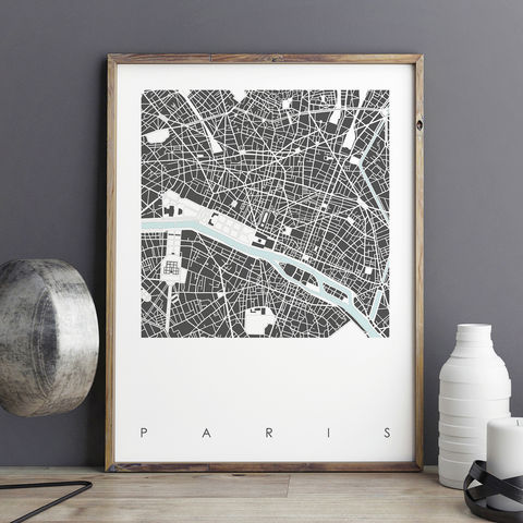 Paris,Map,Art,Prints,-,LIMITED,EDITION,PRINTS,Paris map art prints, city maps, paris prints, city prints, limited edition prints