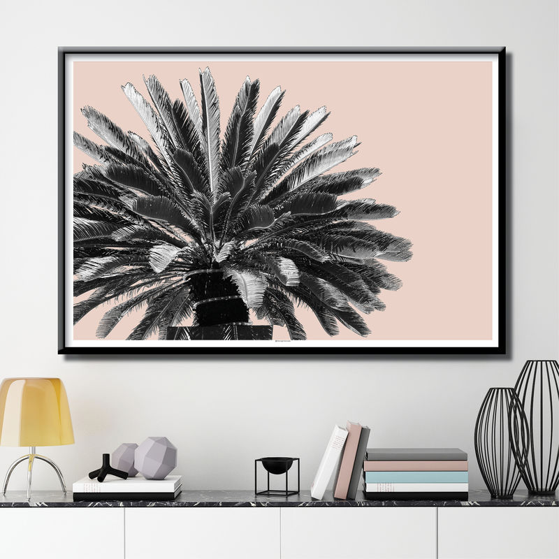 Botanical Art Prints - Palm Tree Print - Minimalist Print - product images  of