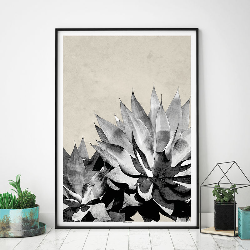 Set of 2 Botanical Art Prints - Tropical Print - Botanical Home Decor - product images  of