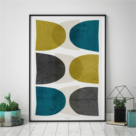 Abstract,Fine,Art,Print,–,Mid,Century,Modern,Prints,Living,Room,Wall,Abstract fine  Art Print – Large Abstract Wall Art – mid century Modern Art Prints –  Living Room Wall Art – Fine Art Prints