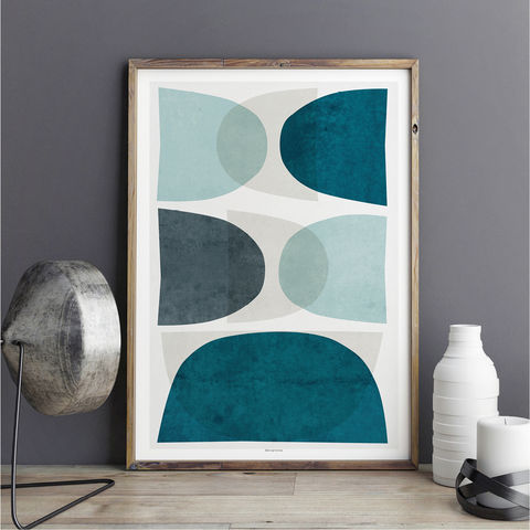 Minimalist,Abstract,Wall,Art,Print,-,Blue,minimalist print, abstract wall art, blue abstract rt print, wall art print