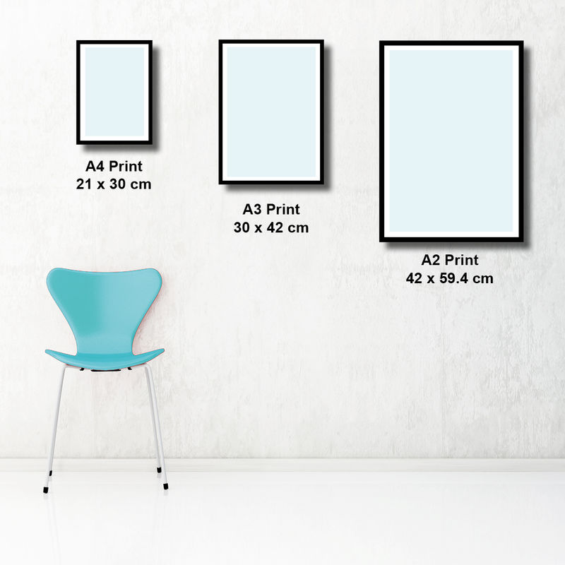 Set of 3 Abstract Prints – Blue Wall Art Prints – Large Wall Art Prints  - product images  of
