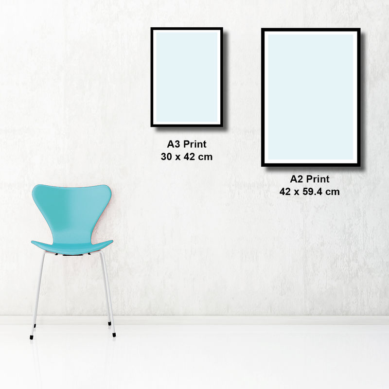 Abstract Wall Art Prints - Living Room Art - Blue Grey Wall Art - Minimalist Print - product images  of