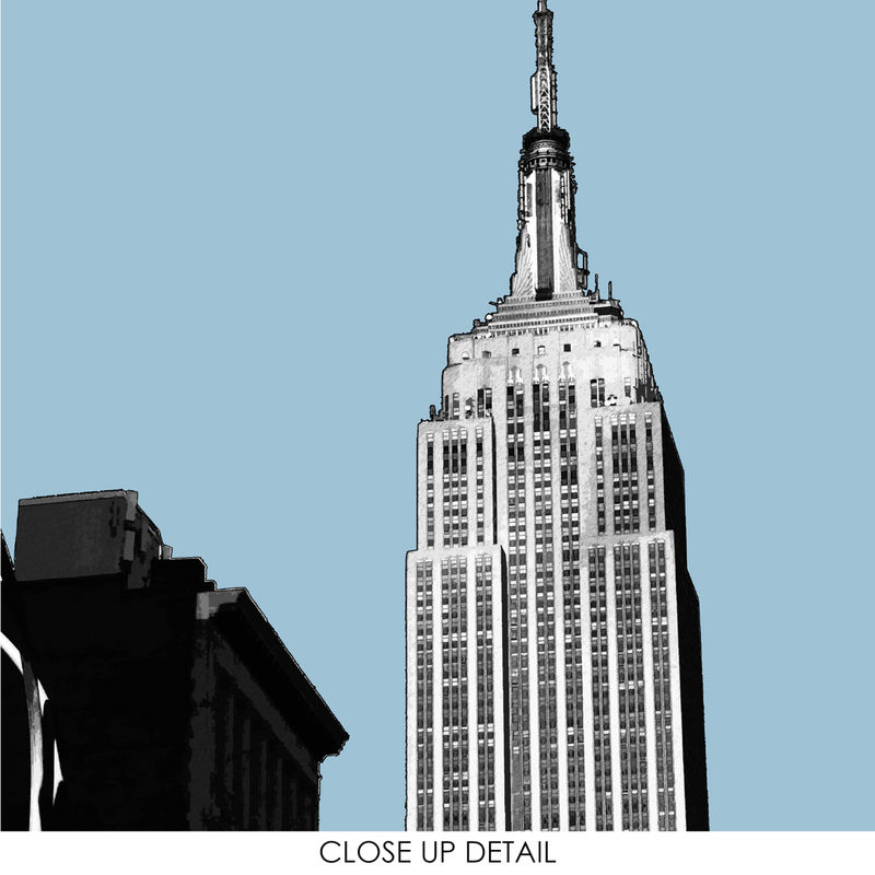 New York Wall Art Print - City Prints - New York Gift - Empire State Building - City Prints - product images  of