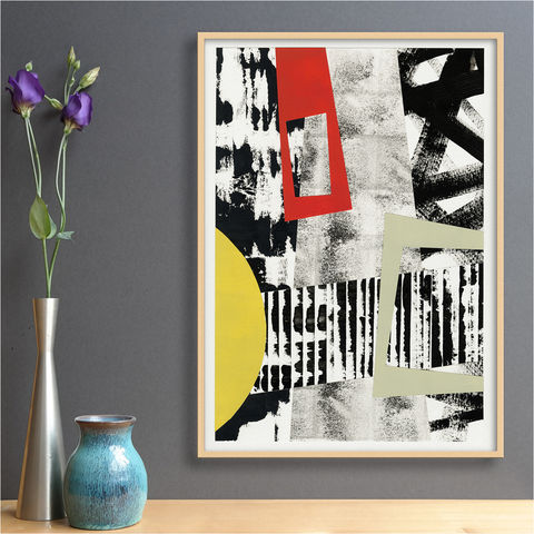 Original,Abstract,Collage,Artwork,-,Mixed,Media,Painting,Black,and,White,Art,Original Abstract Collage Artwork - Mixed Media Painting - Black and White Abstract Art