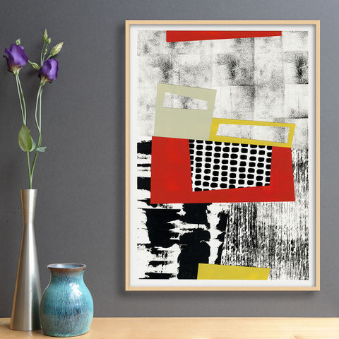 Original,Mixed,Media,Painting,-,Contemporary,Collage,Art,Work,Black,and,White,Abstract,Original Mixed Media Painting - Contemporary Collage Art Work - Black and White Abstract Art