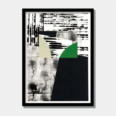 Abstract,Fine,Art,Painting,-,Contemporary,Collage,Black,and,White,Wall,Abstract fine art painting - Contemporary Abstract Collage - Black and White Wall Art