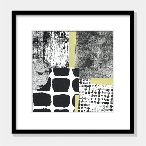 One,of,a,Kind,Abstract,Painting,-,Contemporary,Collage,Black,and,White,Wall,Art,One of a Kind Abstract Painting - Contemporary Abstract Collage - Black and White Wall Art