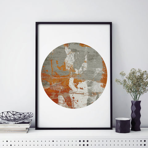 Abstract,Fine,Art,Prints,-,Burnt,Orange,Living,Room,Wall,Modern,Print,A2,A3,Abstract Fine Art Prints - Burnt Orange Living Room Wall Art Prints - Modern Art Print - A2 Print - A3 Print