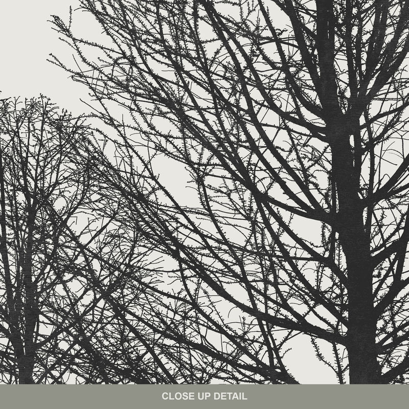 Set of 2 Tree Art Prints - Minimalist Prints - Landscape Wall art - product images  of