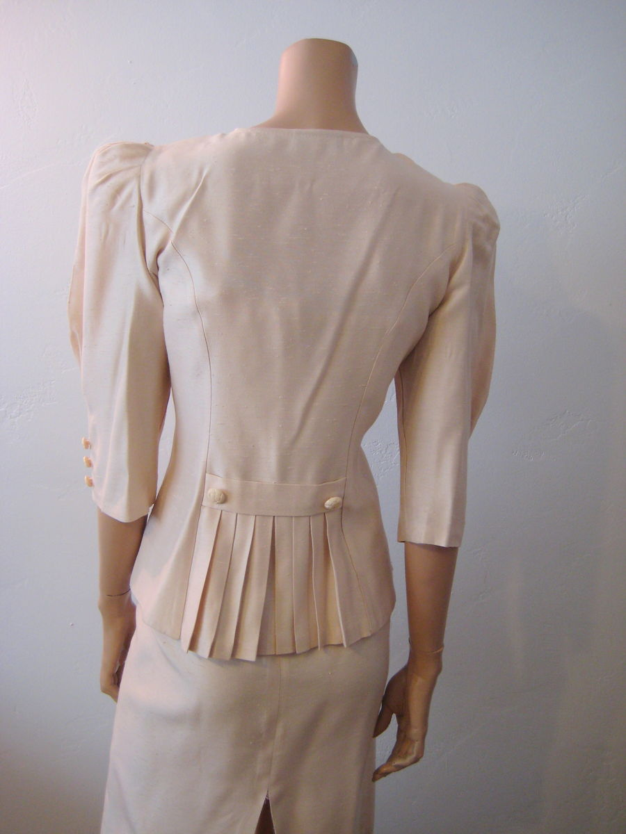 Vintage 1980's Cachet By Bari Protas Dress & Jacket Size 9/10 - product images  of