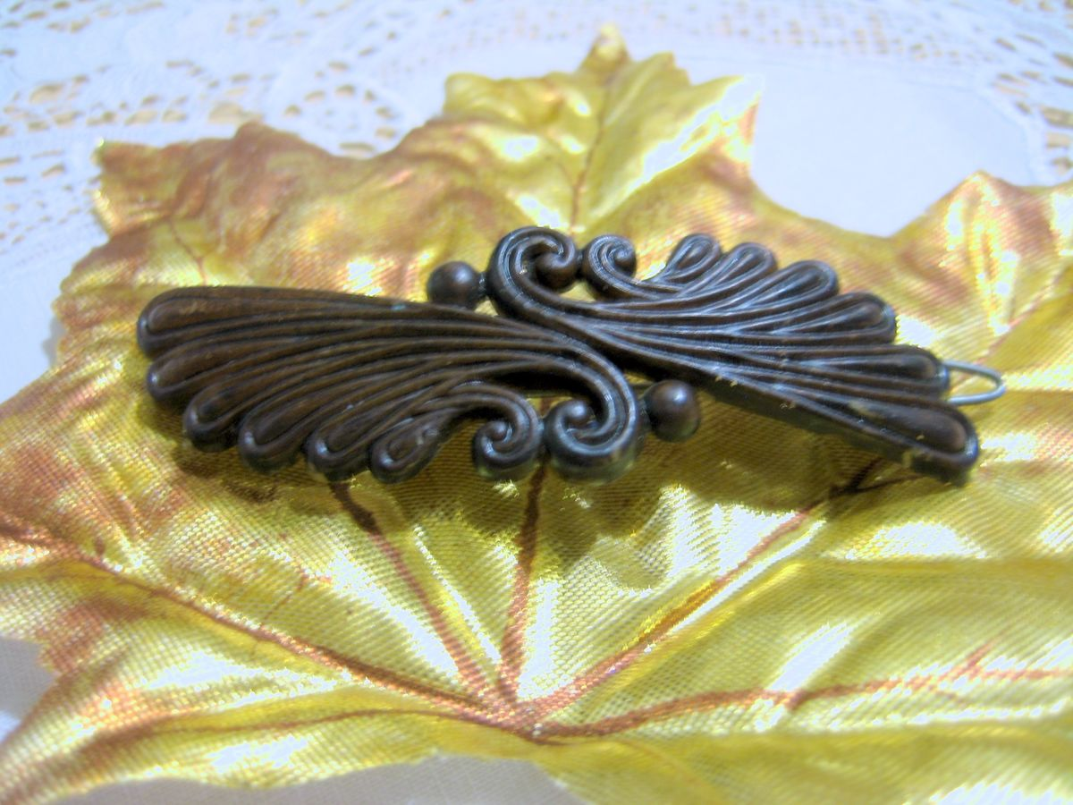 Vintage Plastic Barrette - product images  of