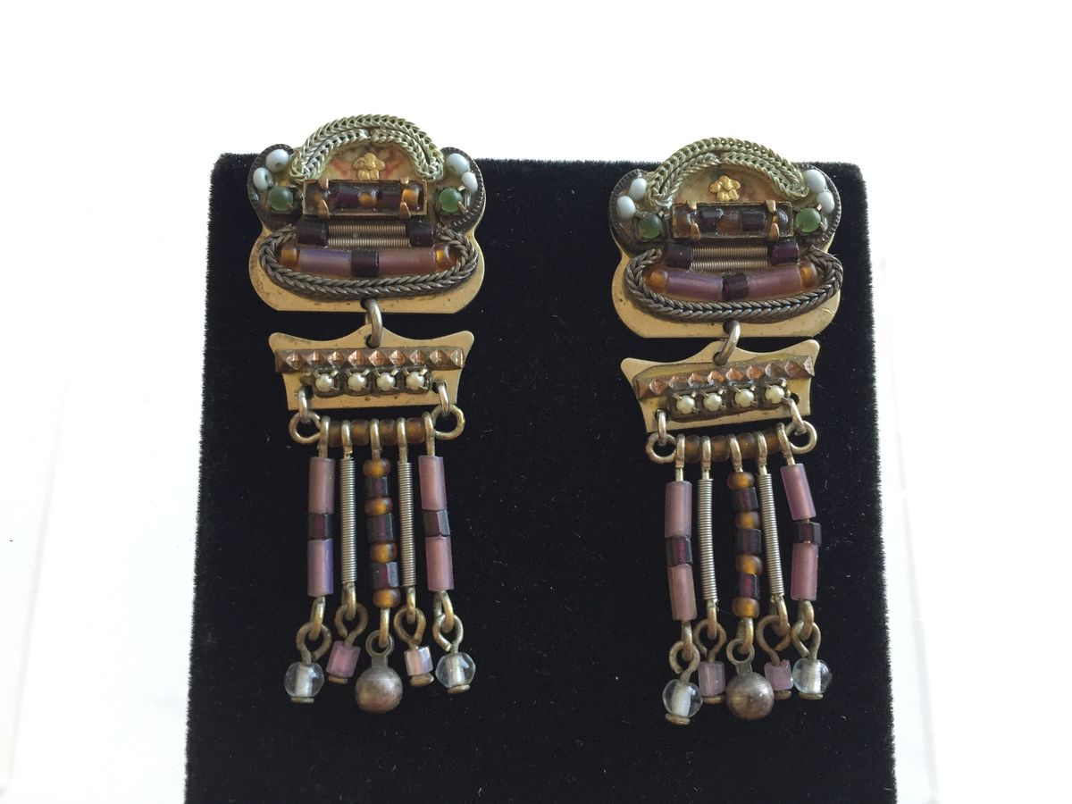 Statement Earrings by Adaya - product images  of